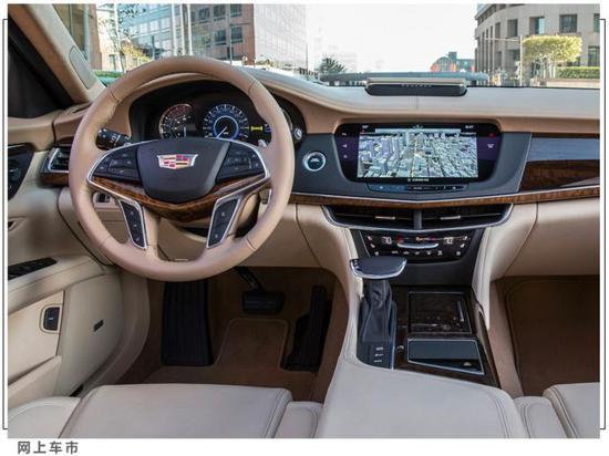 凯迪拉克CT6全系直降8万元 比奔驰E级大