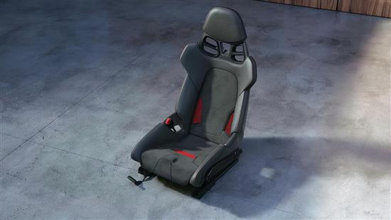 提供选装 保时捷911等车型推出3D打印座椅