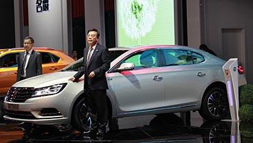 荣威E950新能源车及概念车亮相广州车展