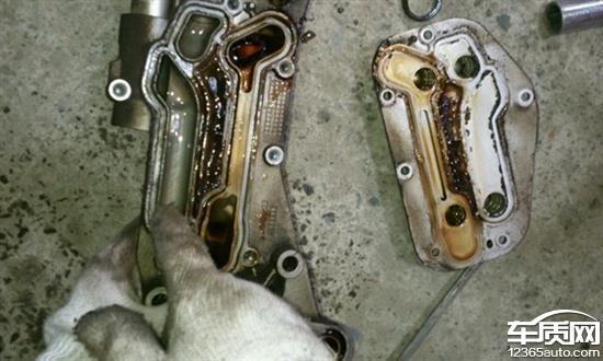 就去鲁图片网_雪佛兰科鲁兹机油散热器故障 副水箱有机油 - 车质网