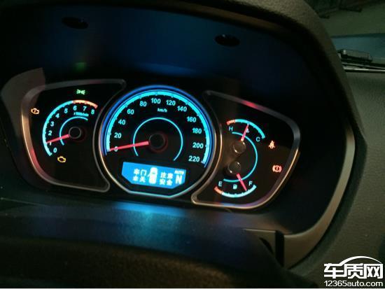海马S7行驶中发动机熄火故障灯亮高清图片