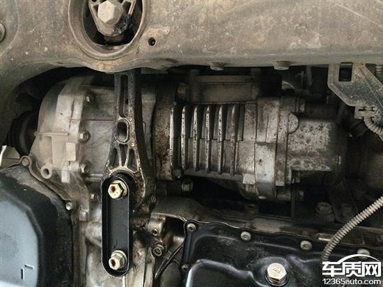 上海大众途观发动机漏油无法解决高清图片