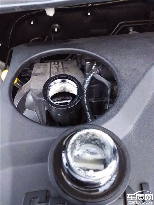 江淮瑞风S3发动机机油乳化问题严重高清图片