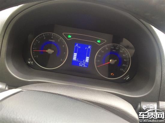 东风风行S500新车发动机故障灯亮高清图片