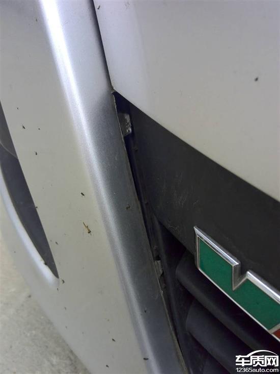江淮江淮和悦RS车身生锈掉漆严重高清图片