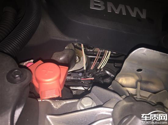 华晨宝马5系新车发动机漏油及油表不准高清图片