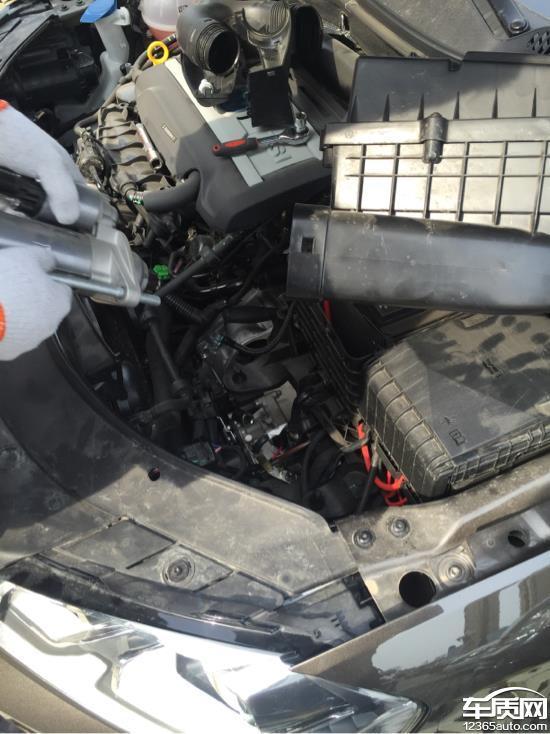 一汽大众迈腾新车发动机无法启动