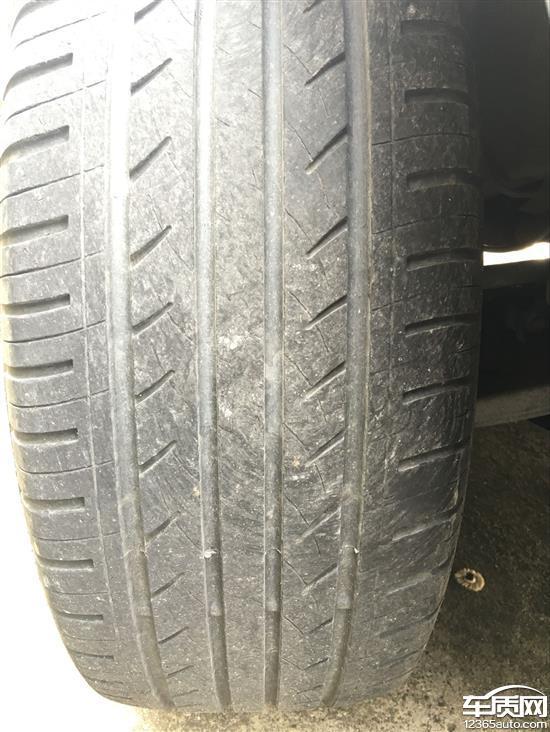 江淮瑞风S3前轮佳通轮胎吃胎 更换总成高清图片