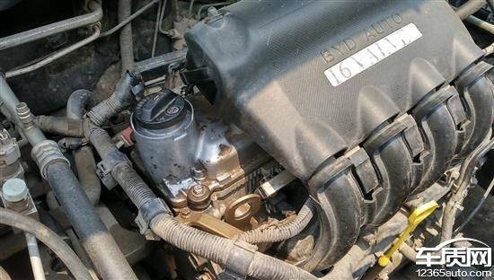 比亚迪f3发动机烧机油