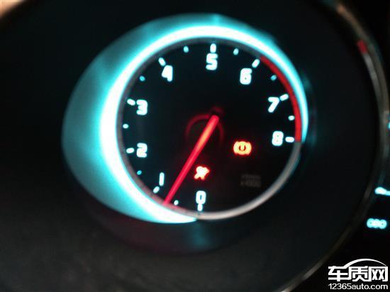长安cs35安全气囊指示灯常亮