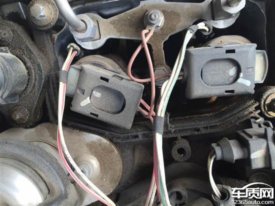 华晨宝马5系发动机漏油异响 方向跑偏高清图片