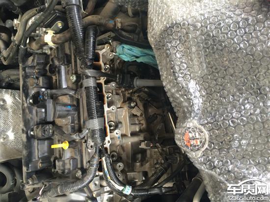 长安马自达cx-5发动机异响单缸烧机油积碳