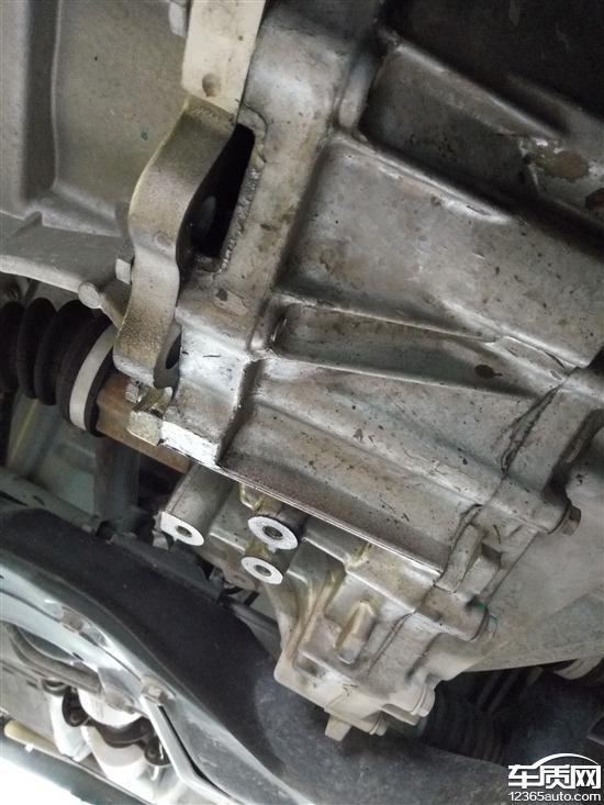 长城m4发动机与变速箱连接处漏油