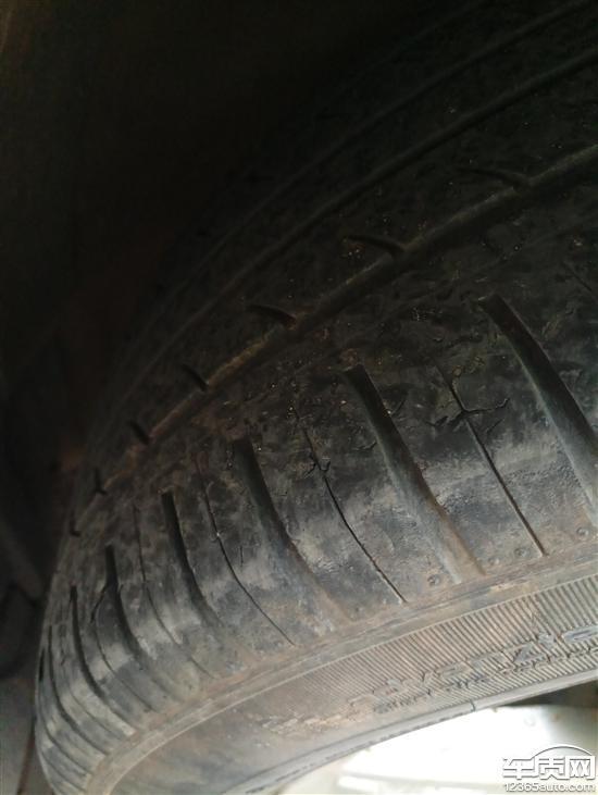 江淮瑞风S3佳通轮胎起皮严重高清图片