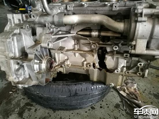 雪佛兰汽车车头底盘结构图解