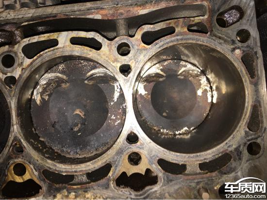 汽大众奥迪Q5发动机正时链条拉长高清图片