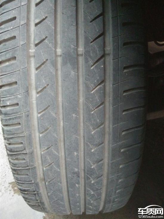 江淮瑞风S3两前轮轮胎吃胎 定位不起作用高清图片