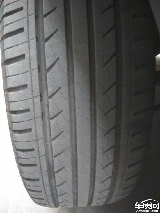 江淮瑞风S3两前轮轮胎吃胎定位不起作用高清图片