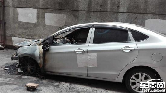 郑州海马M3车辆多次发生自燃现象高清图片