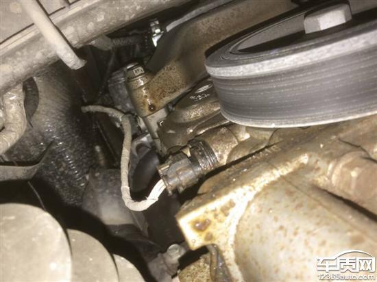 广汽传祺gs4发动机变速箱漏油刹车软