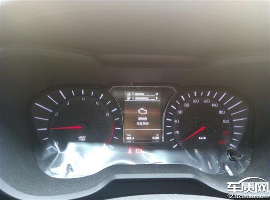 广汽传祺gs4仪表盘显示请检查排放系统