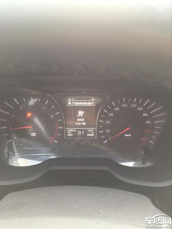 广汽传祺gs4变速箱漏油 安全气囊灯常亮