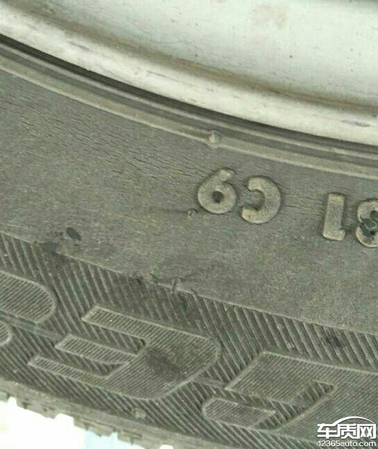 雪佛兰创酷普利司通轮胎开裂望解决_-_车质网
