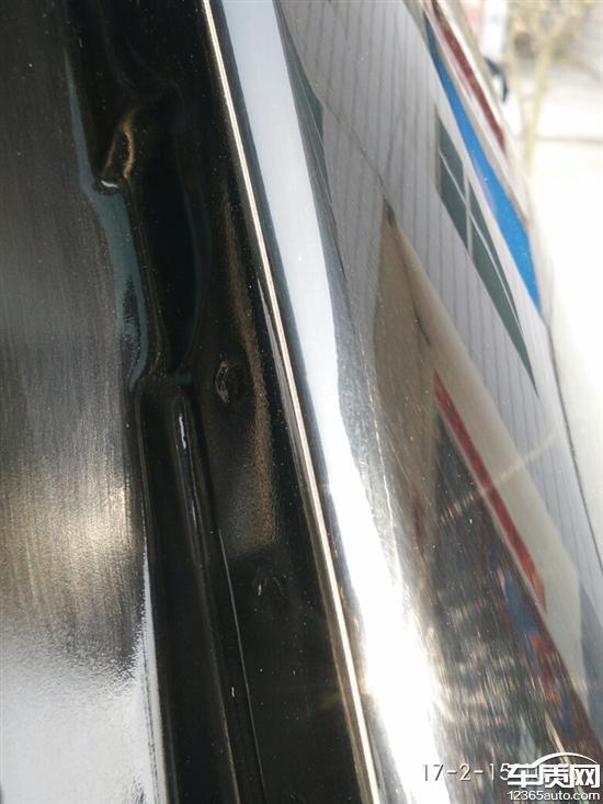 哈弗H6后备箱盖密封条与车身磨损_-_车质网