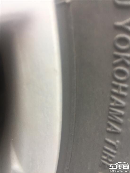 长安CS75优科豪马轮胎开裂很严重_-_车质网