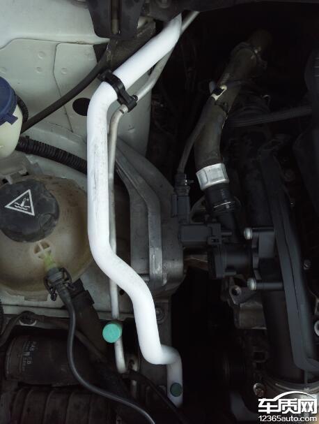 东风标致408空调管道结冰导致不制冷 - 车质网