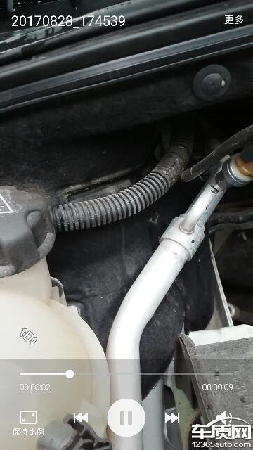 东风标致308发动机舱漏水4s店拒绝维修