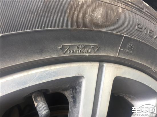 东风标致408固特异轮胎表面开裂严重_-_车质网