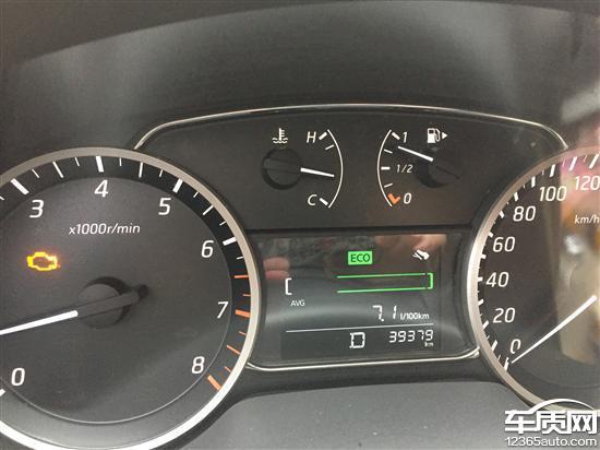 东风日产汽车故障灯标志图解 汽车符号仪表图案大全