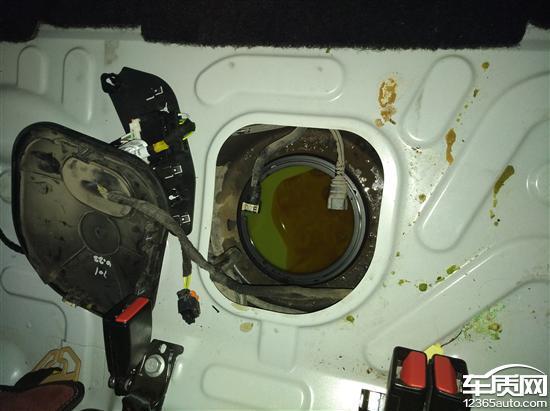 东风标致308油泵故障导致发动机抖动