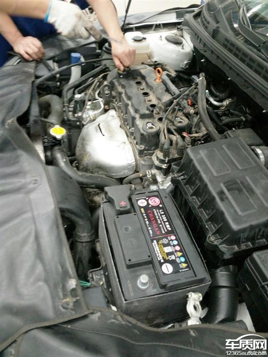 长安逸动发动机缸体和气缸盖之间渗油