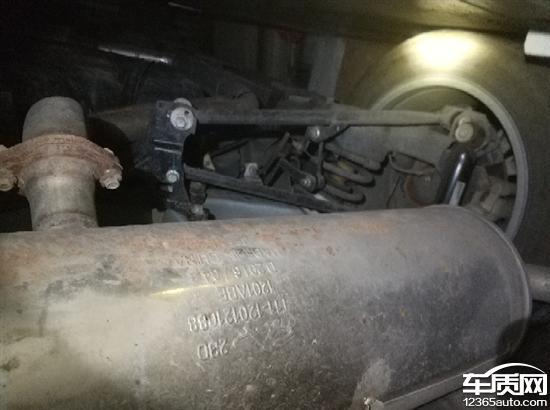 奇瑞瑞虎3减震器和发动机渗油 空调异响
