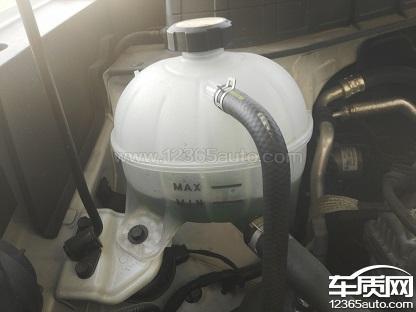 北京现代途胜冷启动发动机抖动防冻液下降快