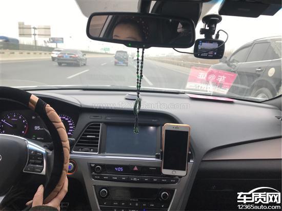 北京现代索纳塔九中控显示屏黑屏自动重启_-_车质网
