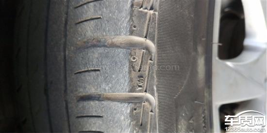 东风标致508倍耐力轮胎开裂希望召回处理_-_车质网