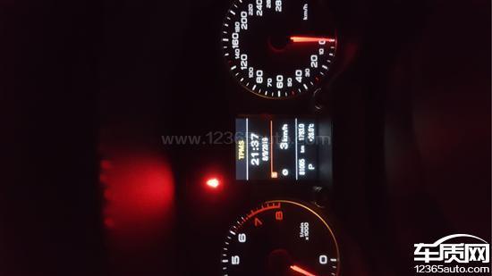 进口奥迪Q5变速箱和胎压监测系统故障