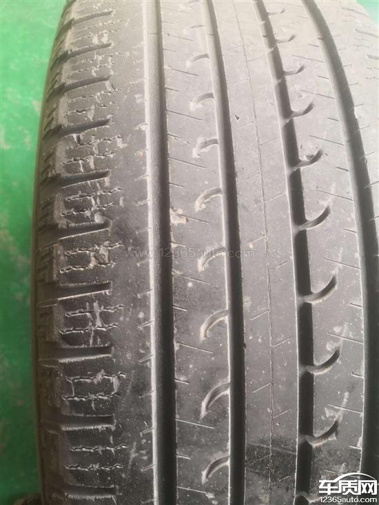 比亚迪S7固特异轮胎异常磨损开裂表皮脱落