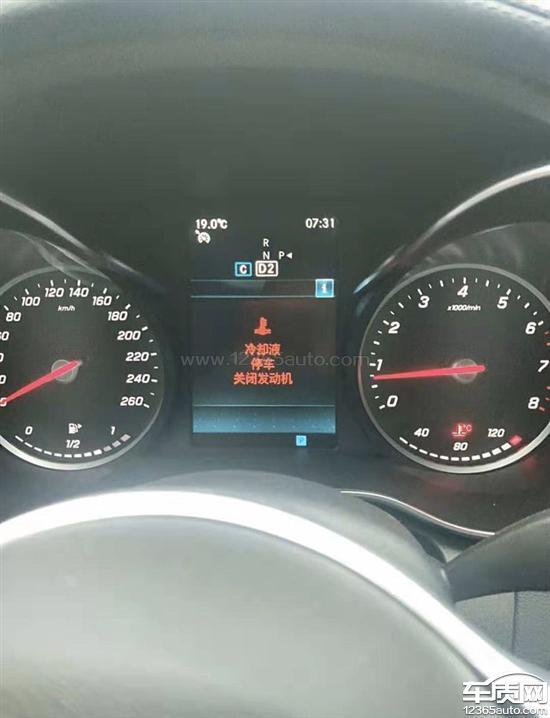 北京奔驰C级冷却系统故障 刹车异常音响杂音