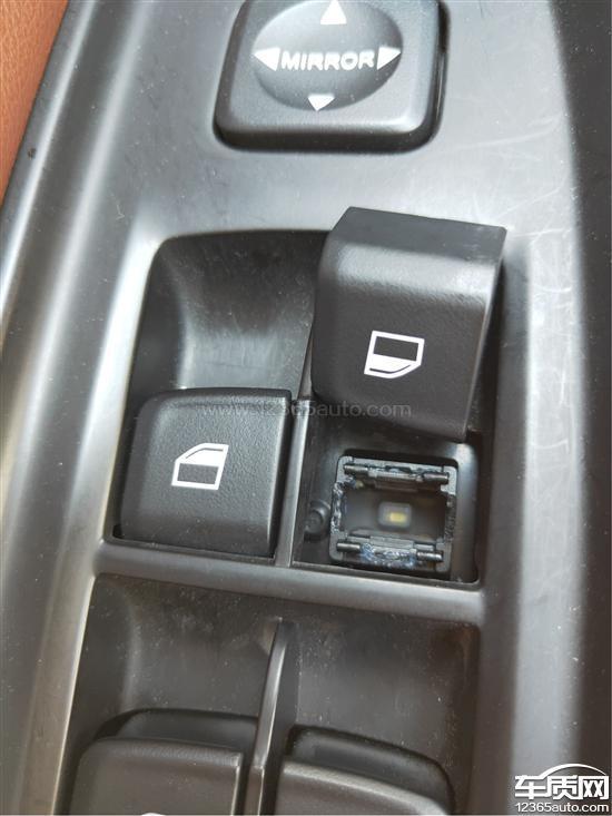 中华V6车窗升降开关按钮脱落无法使用_-_车质网