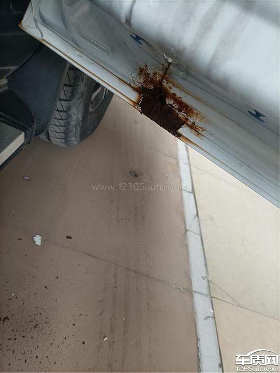 吉利远景X6车门以及底盘严重生锈_-_车质网