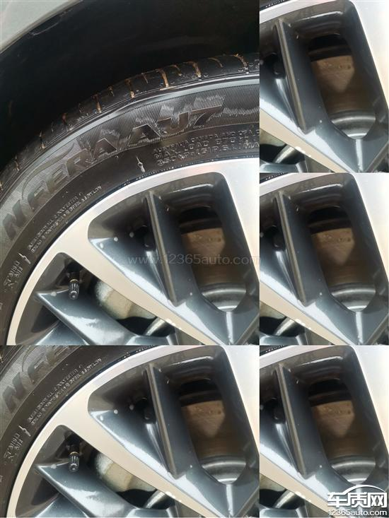 北京现代索纳塔耐克  森轮胎鼓包进展处理惩罚处罚