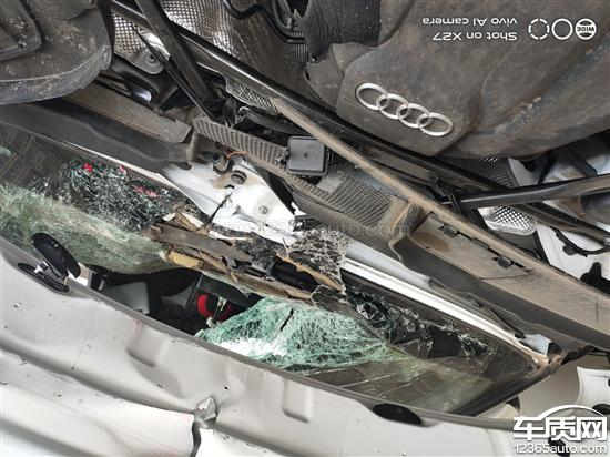 一汽大众奥迪Q5L刹车失灵_安全气囊未弹开_-_车质网