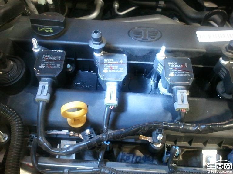 一汽奔腾b70发动机漏油问题