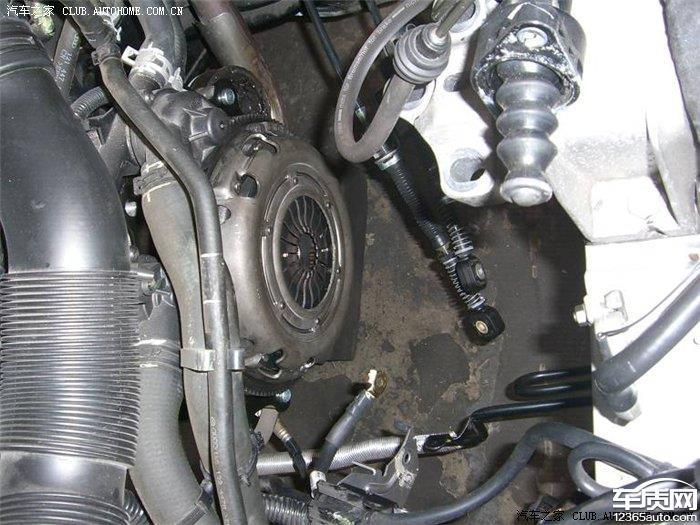 上海大众朗逸发动机变速箱异响半轴严重漏油