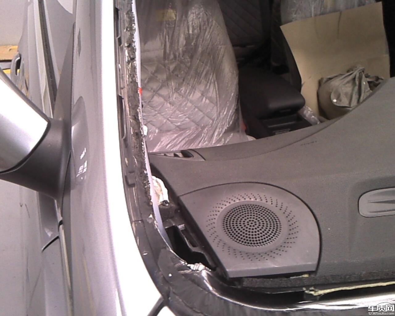 北京现代第八代索纳塔车内严重异响问题