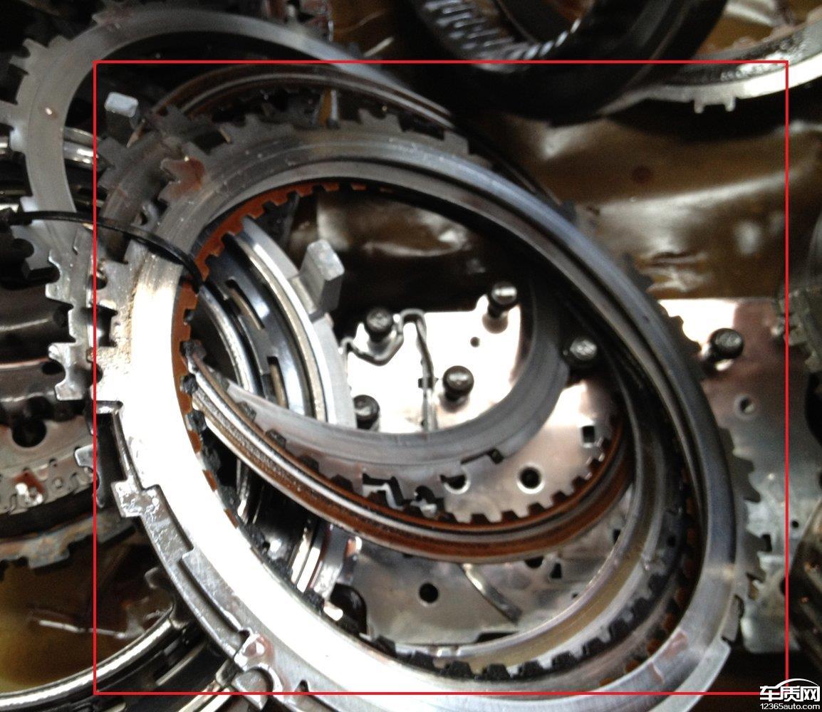 雪佛兰科鲁兹变速箱模块及机械损坏